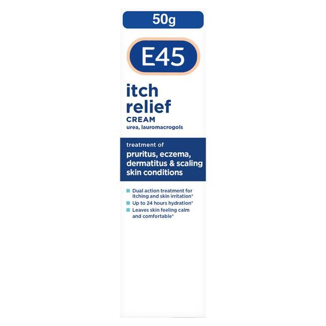 Itch relief creams