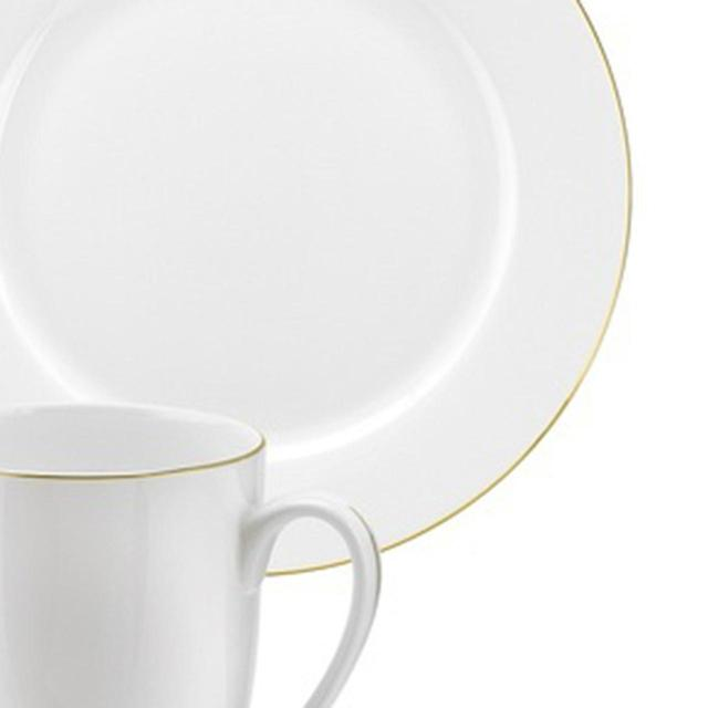 ... Royal Worcester Serendipity Fine Bone China Dinner Set, Gold Rim