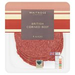 Waitrose British Corned Beef