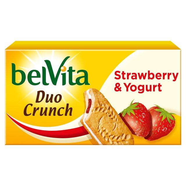 Belvita Breakfast Strawberry Yogurt Duo