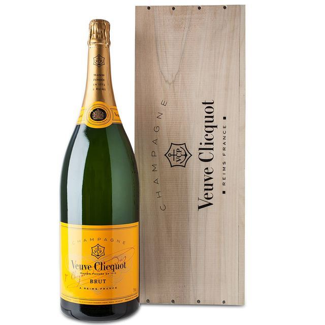 veuve clicquot yellow label nv jeroboam champagne 3l from ocado. Black Bedroom Furniture Sets. Home Design Ideas