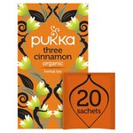Pukka Organic Three Cinnamon Tea Bags