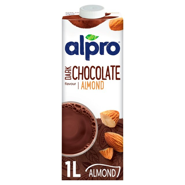 Alpro Longlife Dark Chocolate Almond Milk Alternative Ocado