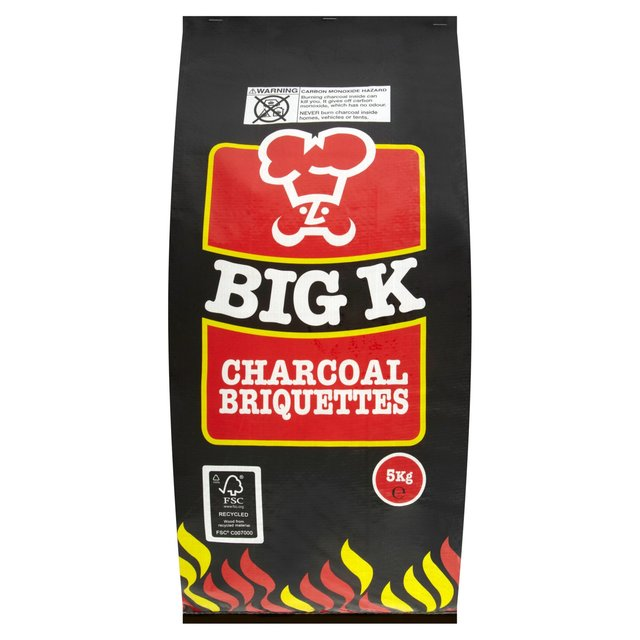 Big K Charcoal Briquettes