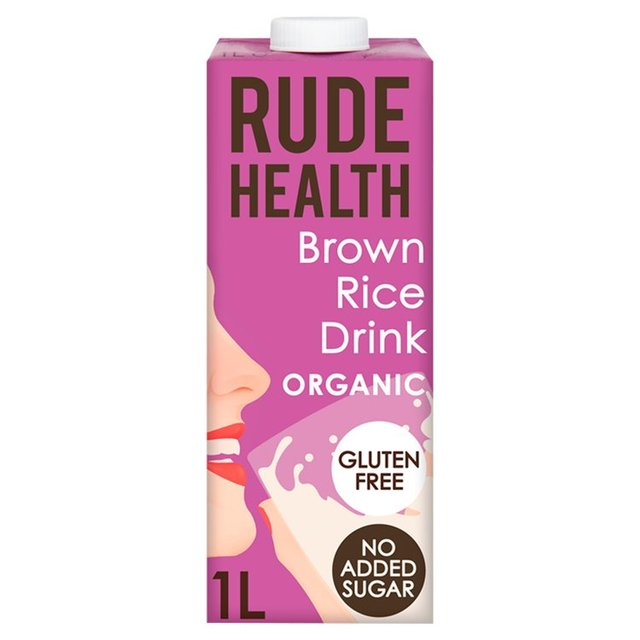 Rude Health Longlife Unsweetened Brown Rice Drink
