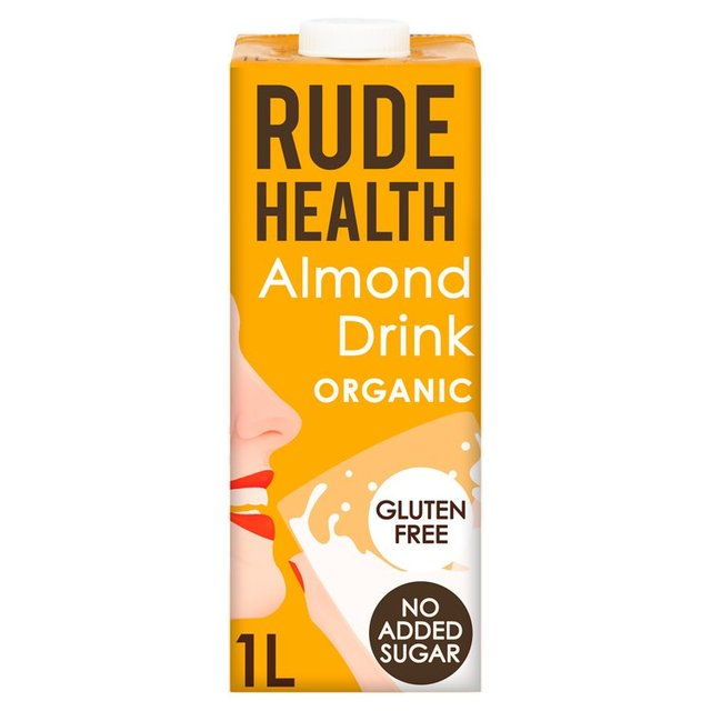 Rude Health Longlife Unsweetened Almond & Rice Drink