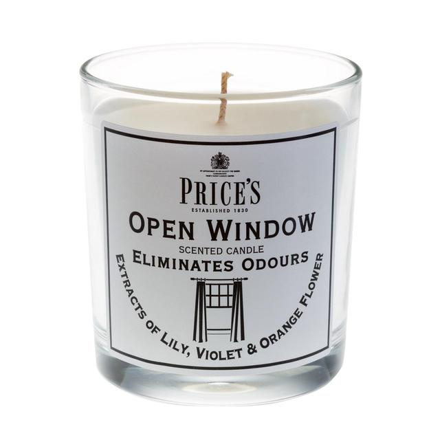 6 x Prices Open Window Scented Candle Tin Eliminated Odours Smelss