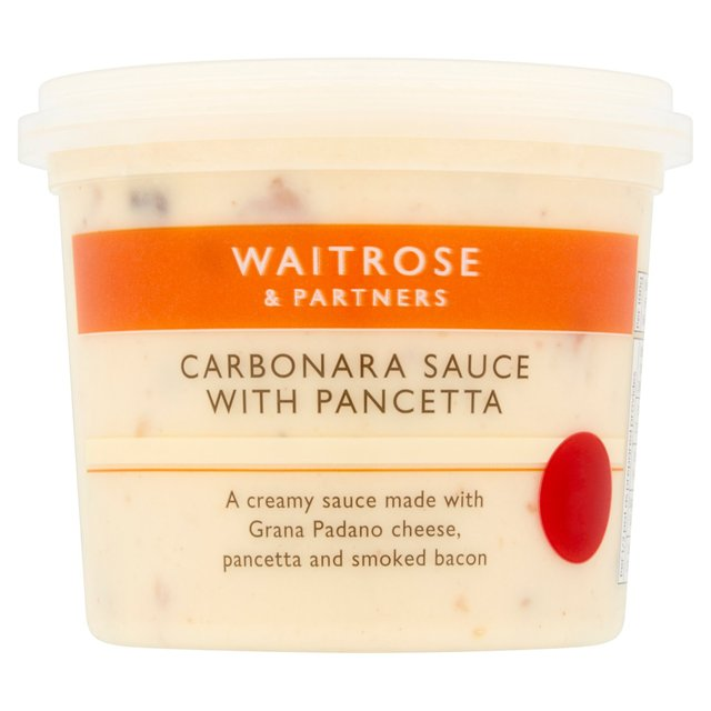 Fresh Carbonara Sauce Waitrose