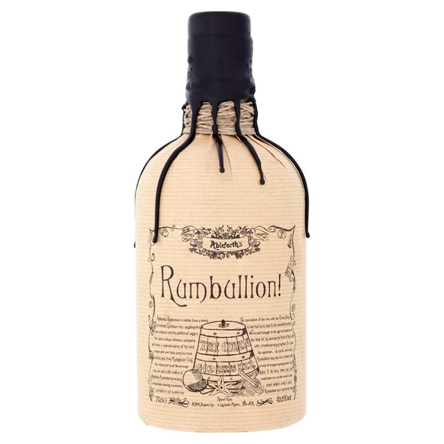 Ableforths Rumbullion Spiced Rum 70cl From Ocado