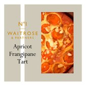 Waitrose 1 Roasted Apricot & Almond Tart