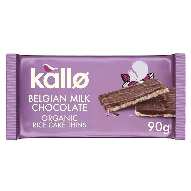 Kallo Milk Chocolate Rice Cakes