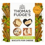 Fudge's Shaped Miscellany of Biscuits for Cheese