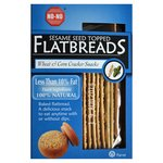 No-No Low Fat Sesame Seed Wheat & Corn Flat Breads