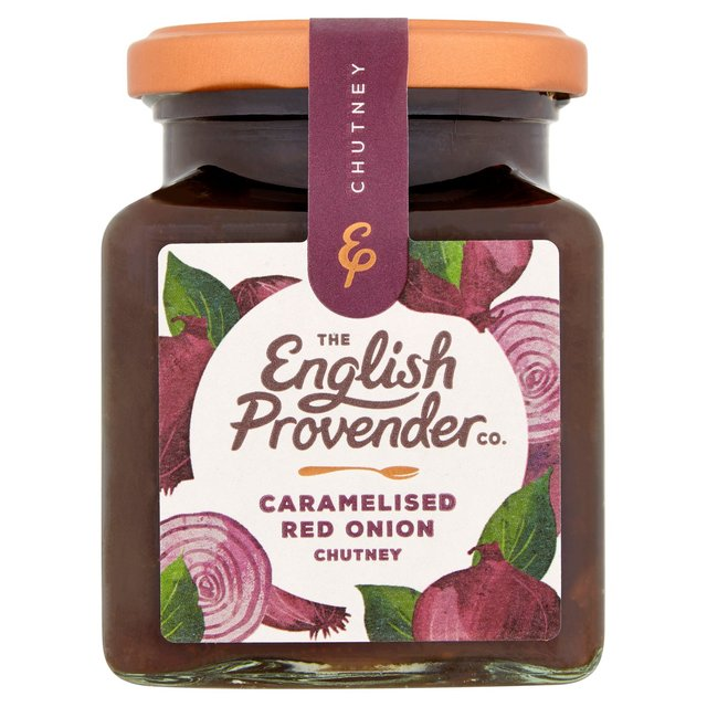 English Provender Co Caramelised Red Onion Chutney 325g from Ocado
