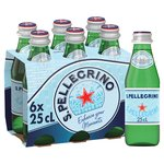 San Pellegrino Sparkling Natural Mineral Water Glass