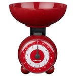 Salter Orb Mechanical Scale, Red