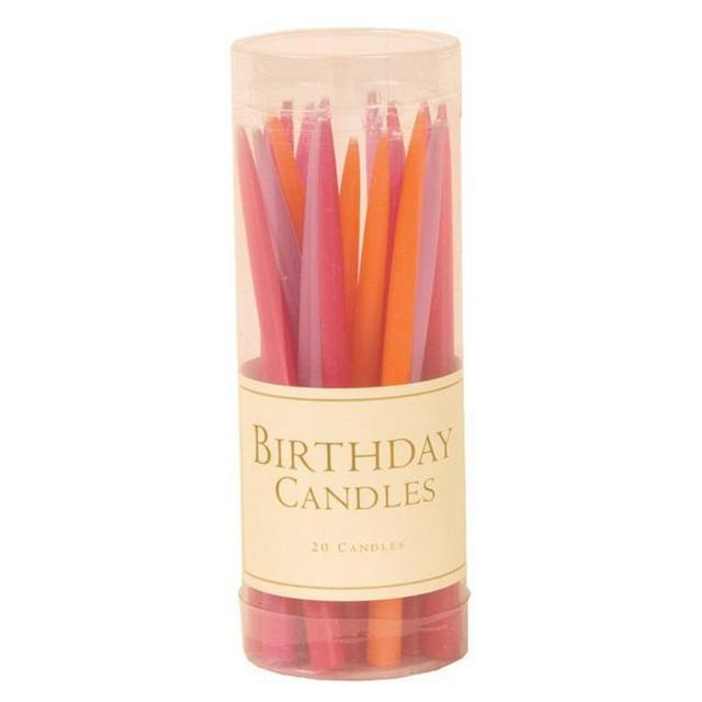 Flower Petals Birthday Candles