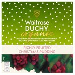 Waitrose Duchy Organic Christmas Pudding