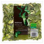 Waitrose Thick Cut Spring Greens