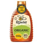 Rowse Organic Squeezable Honey