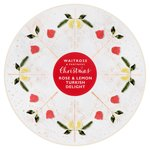 Waitrose Christmas Rose & Lemon Turkish Delight