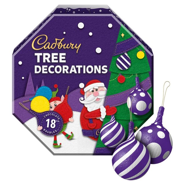Cadbury 14 Chocolate Tree Decorations