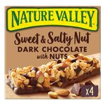 Nature Valley Sweet & Salty Nut Dark Chocolate with Nuts Bars