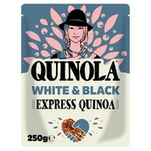 Quinola White & Black Organic Ready to Quinoa