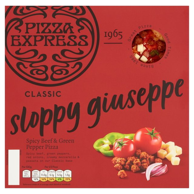 Pizza Express Sloppy Giuseppe Ocado