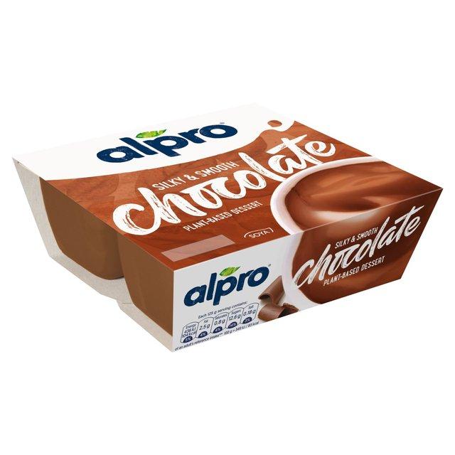 Alpro Chocolate Soya Dessert Ocado