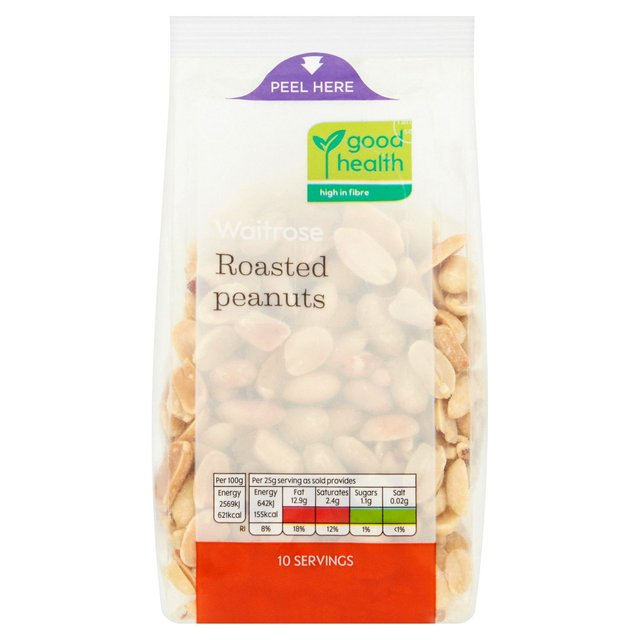 Waitrose Love Life Natural Roasted Peanuts