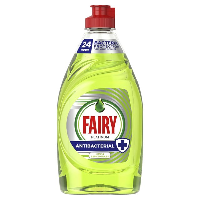Fairy Washing Up Liquid Anti Bacterial Lime