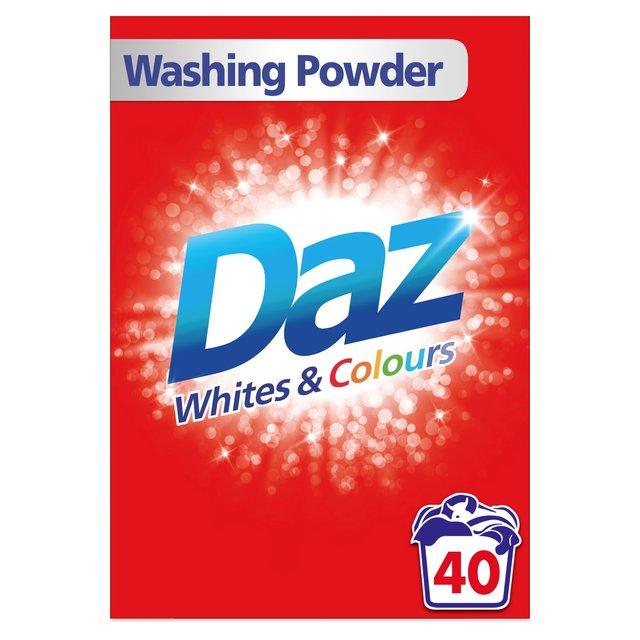 Daz Washing Powder For Whites & Colours 40 Washes | Ocado