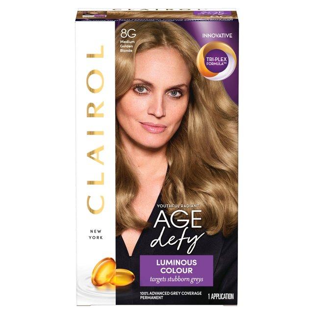 Nice N Easy Age Defy Hair Dye Medium Gold Blonde 8 From Ocado
