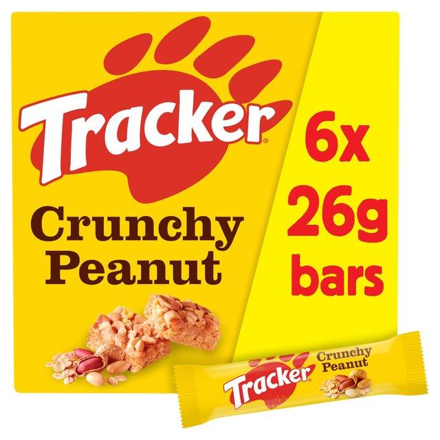 Tracker roasted nut cereal bars 6 x 26g from ocado tracker roasted nut cereal bars ccuart Gallery