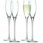 LSA Wine Champagne Flutes Set 160ml