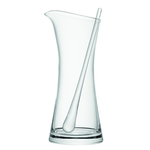 LSA Bar Glass Cocktail Jug & Stirrer 1.2L