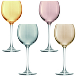 LSA Polka Wine Glasses Set 400ml