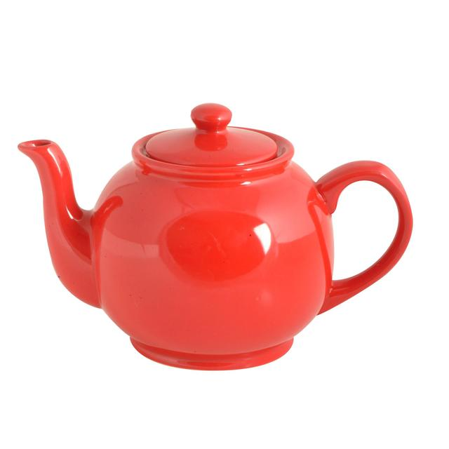 Price And Kensington 6 Cup Teapot Bright Red From Ocado