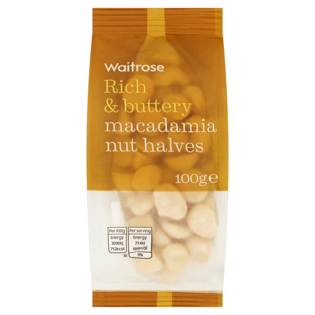 Waitrose Macadamia Nuts | Ocado