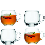 LSA Glass Serve Punch Cups Set 300ml
