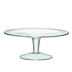 LSA Serve Glass Cake Stand 31cm