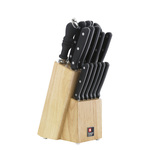 Richardson Sheffield Cucina Natural Wood 15 Piece Knife Block