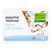 Essential Waitrose Half Fat Lighter Soft Cheese