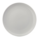 Jamie Oliver Porcelain White on White Dinner Plate 27cm, White