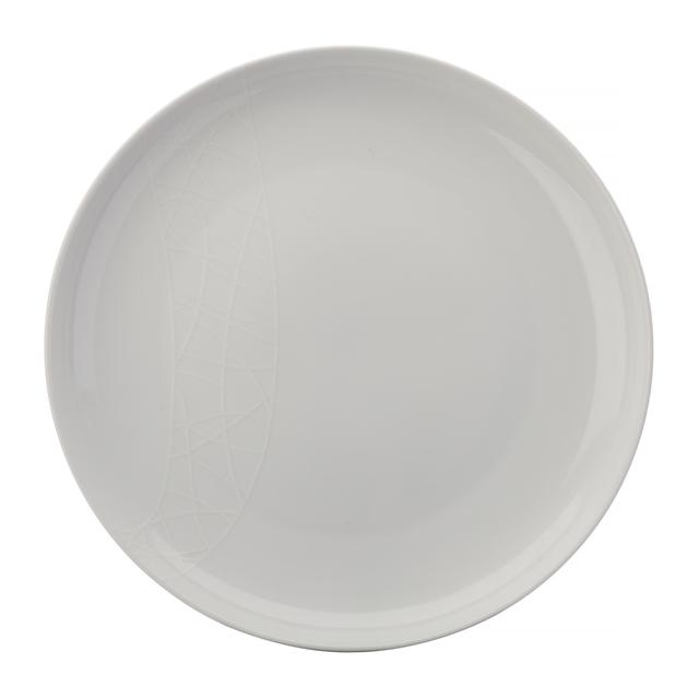 Jamie Oliver Porcelain White on White Dinner Plate 27cm White  sc 1 st  Ocado & Jamie Oliver Porcelain White on White Dinner Plate 27cm White from ...