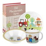 Old Macdonald's Farm, 3pc Dinner Set