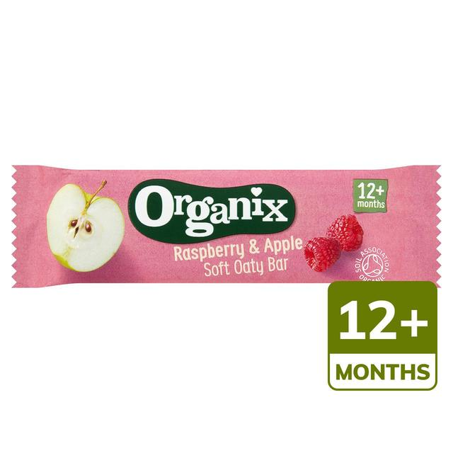 Organix Raspberry & Apple Cereal Bar