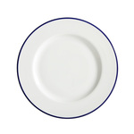 Fairmont & Main Porcelain Canteen Dinner Plate 27cm, White
