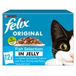 Felix Pouch Fish Selection in Jelly